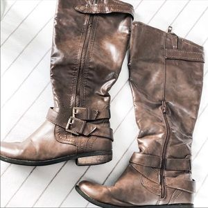 Rampage Hansel Knee High Riding Boots